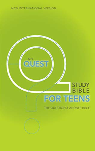 9780310941767: NIV, Quest Study Bible for Teens, Hardcover: The Question and Answer Bible