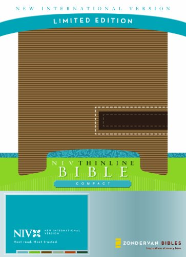 NIV Compact Thinline Bible, Limited Edition: Zondervan