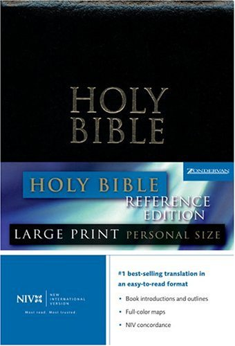 9780310946601: Holy Bible: New International Version, Large Print, personal Size, Reference Edition