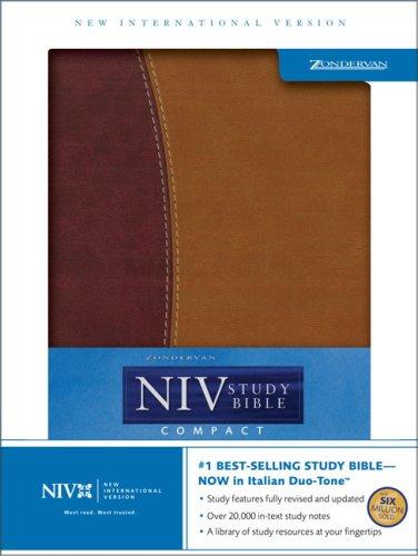 9780310947561: Zondervan NIV Study Bible, Compact Edition