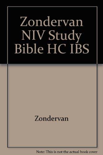 Zondervan NIV Study Bible HC IBS (9780310947622) by Zondervan