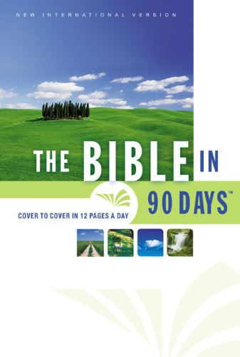 9780310948094: The Bible in 90 Days: Whole-Church Challenge - Session 1 with no teacher