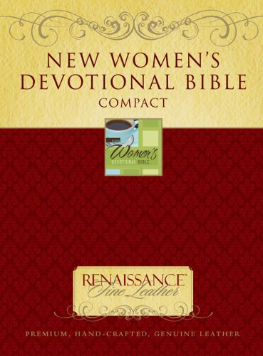 9780310948469: NIV, New Women's Devotional Bible, Compact, Genuine Leather, Brown