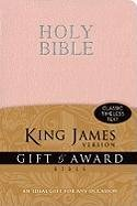 9780310949107: KJV, Gift and Award Bible, Imitation Leather, Pink, Red Letter Edition