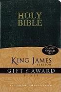 9780310949138: KJV, Gift and Award Bible, Imitation Leather, Black, Red Letter Edition (Bible Kjv)