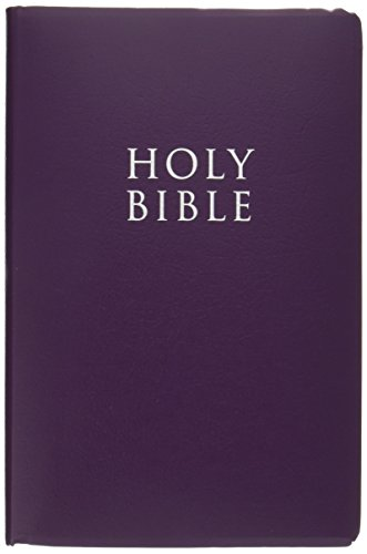 KJV, Gift and Award Bible, Imitation Leather, Purple, Red Letter Edition: Zondervan
