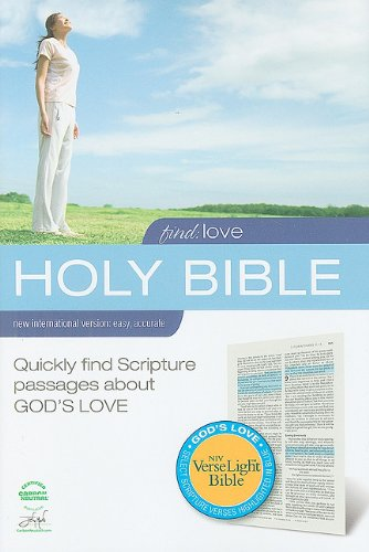 9780310949558: Find Love VerseLight Bible-NIV