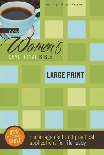 9780310949701: New Women's Devotional Bible, Large Print