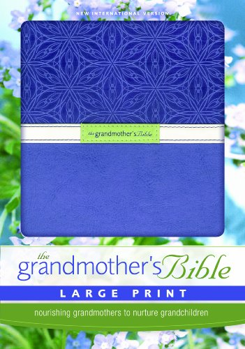 9780310949756: NIV, Grandmother's Bible, Large Print, Imitation Leather, Purple