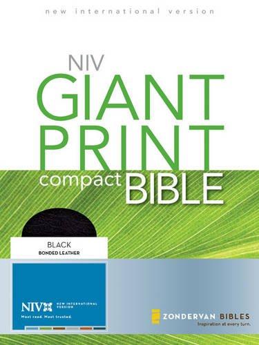 9780310949800: Giant Print Compact Bible-NIV