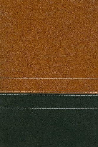 9780310949817: NIV Giant Print Compact Bible, Italian Duo-Tone™, Sierra / Black