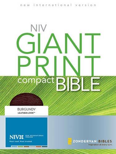 9780310949831: Giant Print Compact Bible-NIV