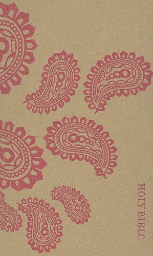 9780310949862: NIV Thinline Bible (Pink Paisley)