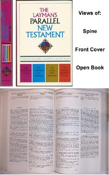 9780310950554: The Layman's Parallel New Testament: King James Version , the Amplified New Testament, the Living New Testament, Revised Standard Version