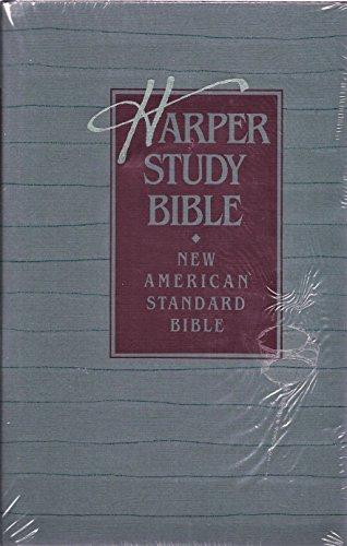 9780310950653: Holy Bible, New American Standard: Harper Study Bible
