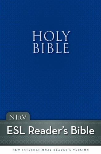 9780310950790: NIrV, Holy Bible for ESL Readers, Paperback, Blue
