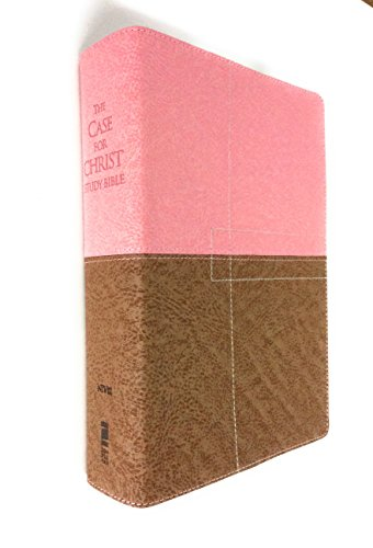 9780310950837: NIV The Case for Christ Study Bible: Investigating the Evidence for Belief, Italian Duo-Tone, Berry Creme / Chocolate (New International Version)