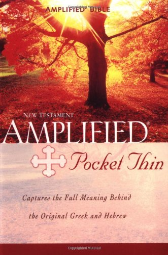 9780310951650: Amplified Pocket -Thin New Testament