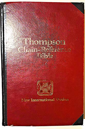 9780310955801: Thompson Chain-Reference Bible: New International Version