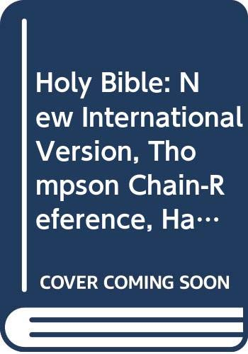 9780310955887: Holy Bible: New International Version, Thompson Chain-Reference, Handi Size, Red Letter, Burgundy Bonded