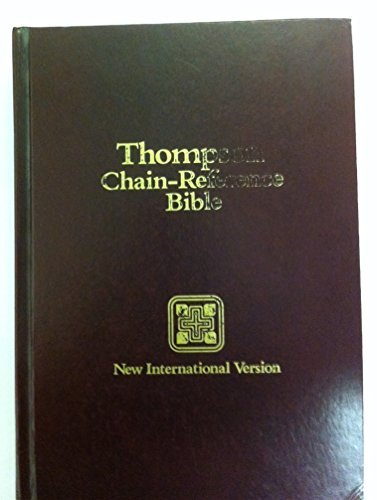 Holy Bible, New International Version: Chain-Reference Bible,: Frank Charles Thompson,