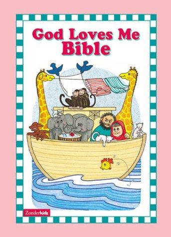 9780310958468: God Loves Me Bible (Girls)