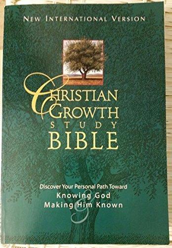 9780310959892: Christian Growth Study Bible (New International Version)
