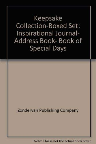 9780310965442: Keepsake Collection-Boxed Set: Inspirational Journal, Address Book, Book of Special Days