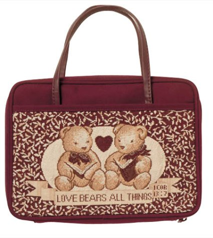 9780310975076: The Charleston Needlepoint Collection Bible Cover: Love Bears All Things- Large