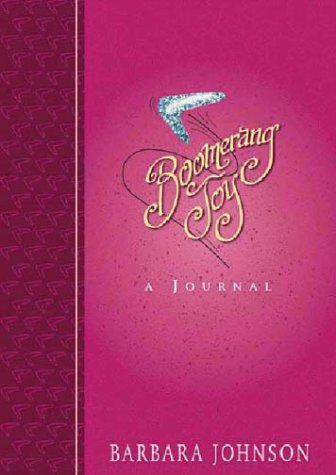 9780310977087: Boomerang Joy: A Journal