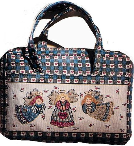 Needlepoint Folk Angel Med (0310978459) by Inspirio; Zondervan Publishing