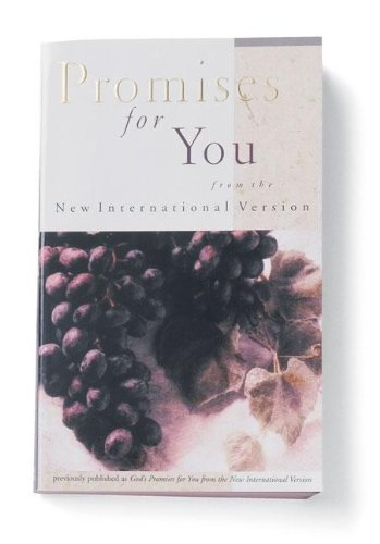 9780310978916: Promises for You from the New International Version