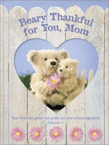 9780310988304: Beary Thankful for You, Mom