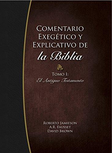 9780311030026: Comentario Exegetico y Explicativo de La Biblia: Tomo I, El Antiguo Testamento (Spanish Edition)
