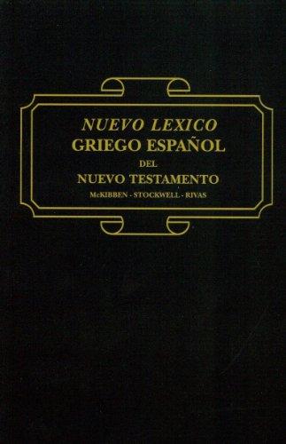 9780311036448: Lexico Griego Espanol de Nuevo Testamento