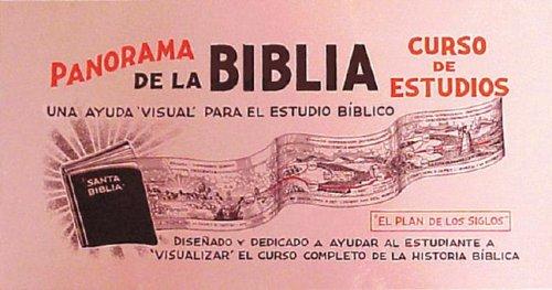 9780311036578: Panorama de la Biblia: Curso de Estudios