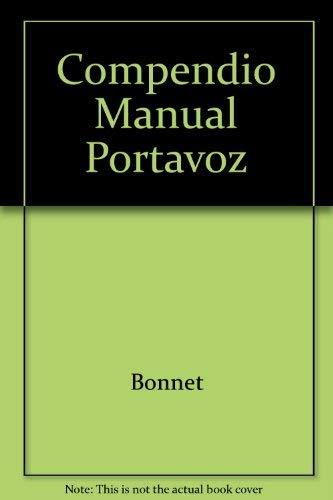 9780311036745: Compendio Manual Portavoz (Spanish Edition)