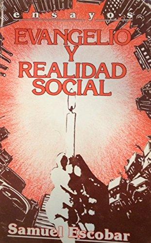 9780311091096: Evangelio y realidad social: Ensayos (Spanish Edition)