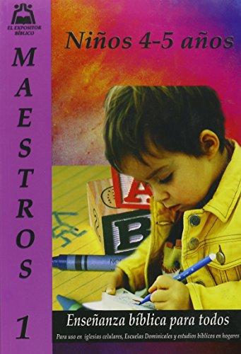 9780311117024: Ensenanza Biblica para Todos-Libro 1-Ninos 4-5-Maestro (Spanish Edition)