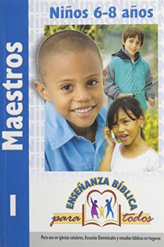 9780311117048: Ensenanza Biblica para Todos-Libro 1-Ninos 6-8-Maestro (Spanish Edition)