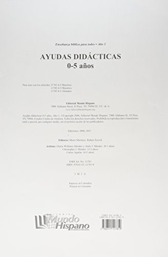 9780311117819: Ensenanza Biblica Para Todos-Libro 1-Ninos 0-5 Anos Ayudas Didácticas (Spanish Edition)