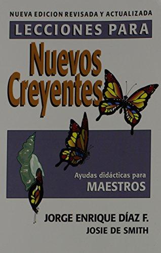 9780311138548: Lecciones Para Nuevos Creyentes: Maestro (Spanish Edition)