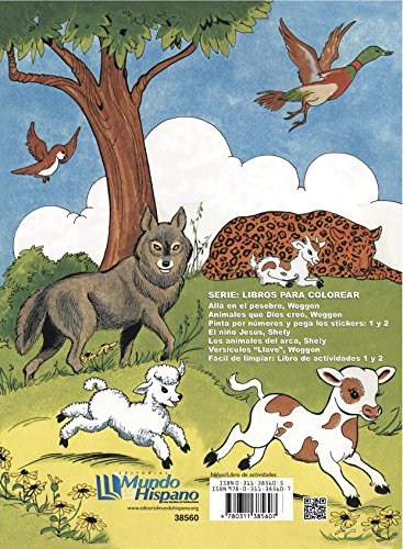 9780311385607: Animales Que Dios Creo (Libros Para Colorear)