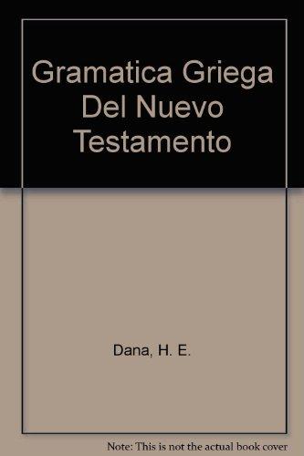 9780311420100: Gramatica Griega Del Nuevo Testamento