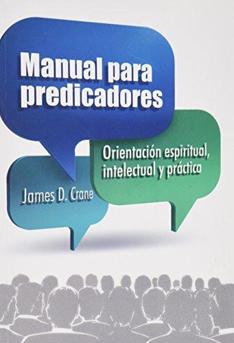 9780311420483: Manual para Predicadores (Spanish Edition)