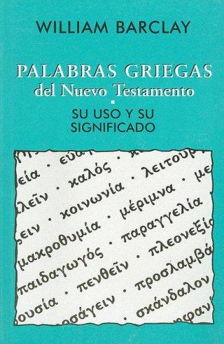 9780311420520: Palabras Griegas del Nuevo Testamento