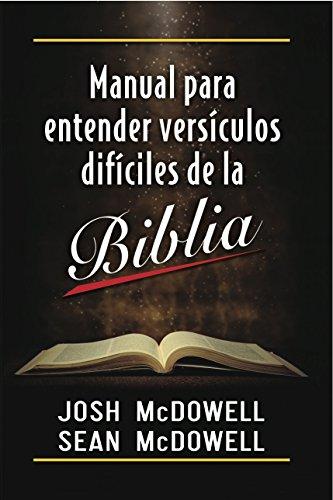 9780311440511: Manual para Entender Versiclos Dificiles de la Biblia (Spanish Edition)