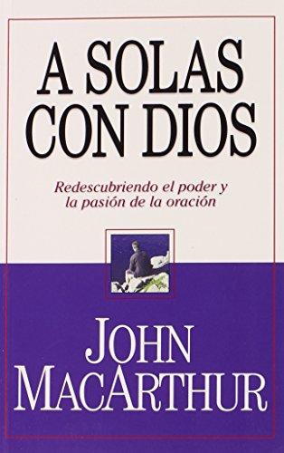 9780311470419: A Solas Con Dios (bolsillo) (Spanish Edition)