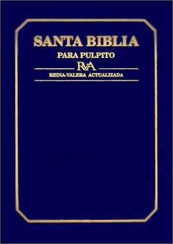 9780311487899: Santa Biblia Para Pulpito-RV 1960