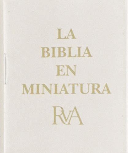La Biblia en miniatura (Dorada) (Spanish Edition): Casa Bautista De